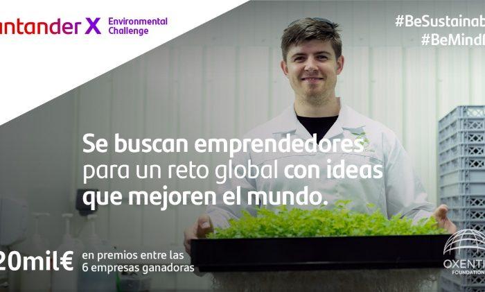 nace-santander-x-environmental-challenge-para-impulsar-el-emprendimiento-sostenible