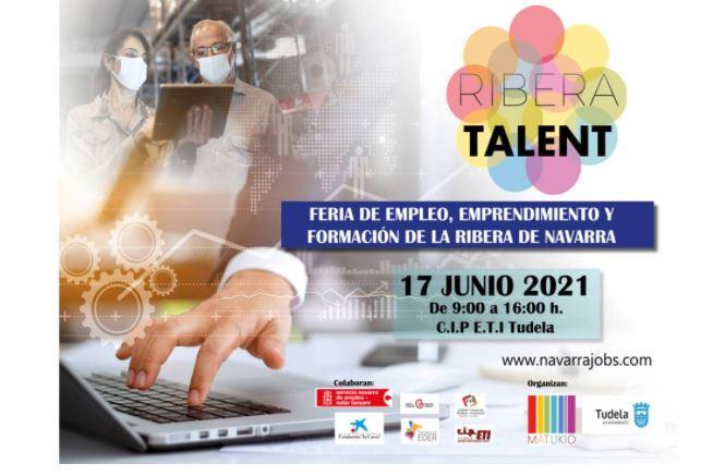 abierta-la-inscripcion-para-participar-en-ribera-talent,-feria-de-empleo,-emprendimiento-y-formacion-con-5-talleres-de-aprendizaje